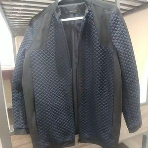 Zara blue and black